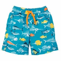 Hatley Fish Bones Swim Trunks