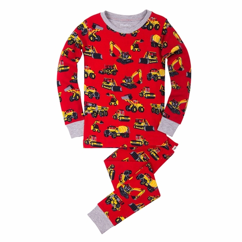 Hatley Heavy Duty Machines Pajama Set