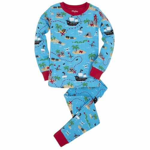 Hatley Treasure Island Pirate Pajama Set
