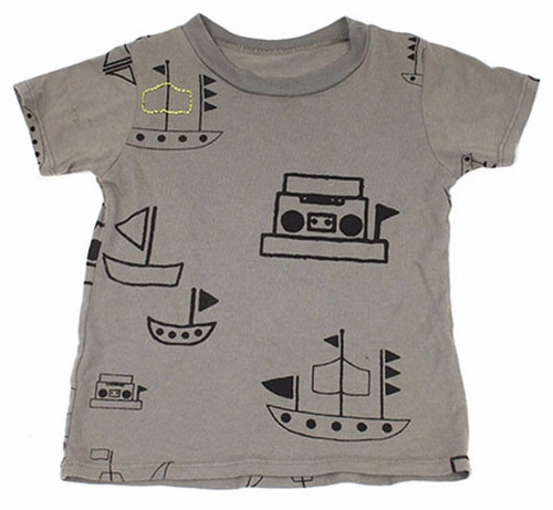 Ice Cream Castles Pirate Boombox Tee