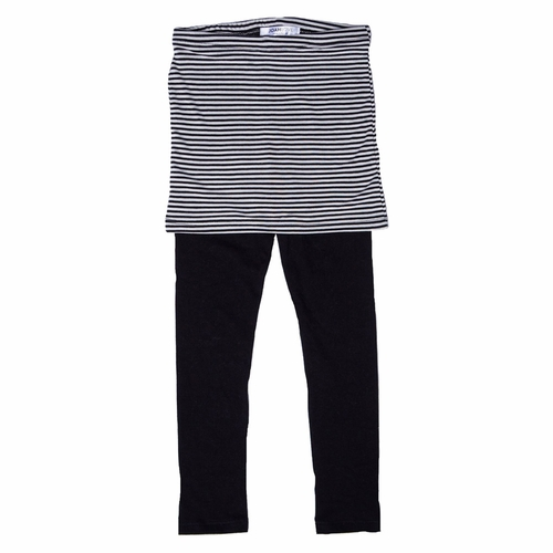 Joah Love Girls Black Stripes Esme Skeggings