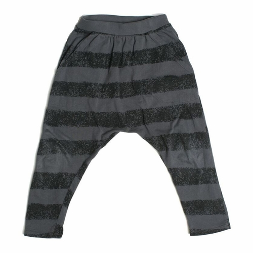 Joah Love Titanium Ryder Striped Hipster Pants