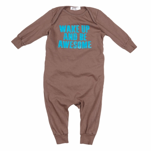 Joah Love Wake Up and Be Awesome Romper