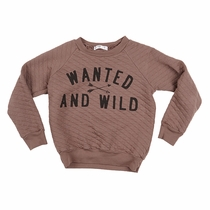 Joah Love Wanted & Wild Quilted Sweatshirt