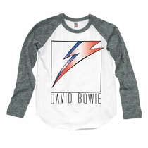 Junk Food David Bowie Long Sleeve Raglan Tee