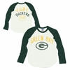 Junk Food Green Bay Packers Long Sleeve Raglan