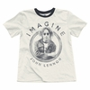 Junk Food John Lennon Imagine Ringer Tee