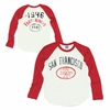 Junk Food San Francisco 49ers Long Sleeve Raglan