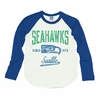 Junk Food Seattle Seahawks Long Sleeve Raglan