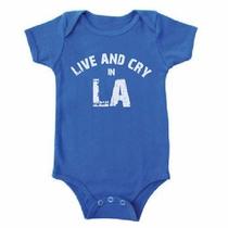 Kira Kids Live and Cry in LA Onesie
