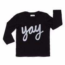 Kira Kids Yay Long Sleeve Tee