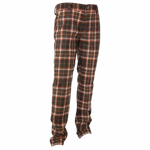 La Miniatura Vintage Plaid Pants