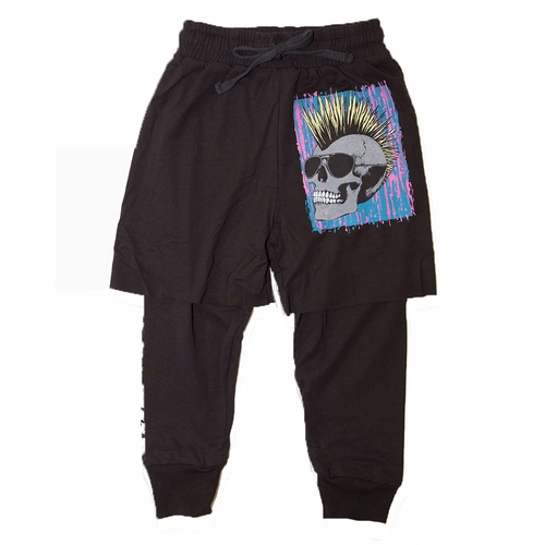 Lauren Moshi Born To Be Wild Twofer Pants