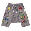 Lauren Moshi Mystic Drop Crotch Yogi Shorts