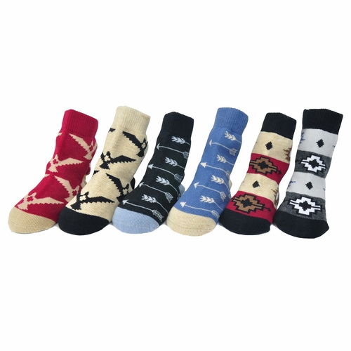Me In Mind Carlsbad 6 Pack Sock Set