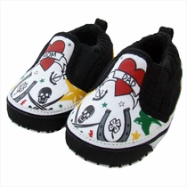 Me In Mind Tattoo Baby Shoes