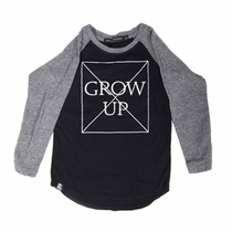 Mini & Maximus Don't Grow Up Raglan