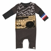 Mini Shatsu Electric Boombox Twofer Romper