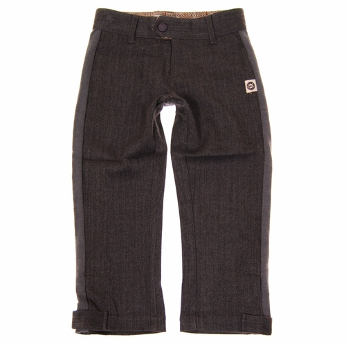 Mini Shatsu Tweed Herringbone Track Pants