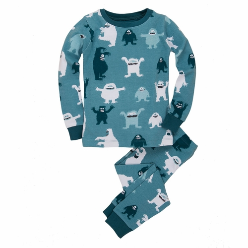Hatley Ice Monster Pajama Set