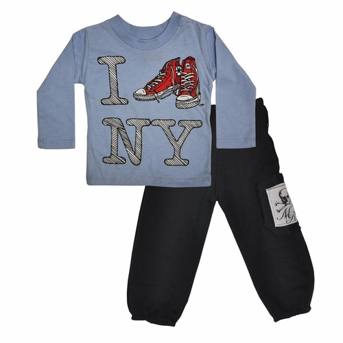 Monster Republic I Sneaker NY Toddler Set