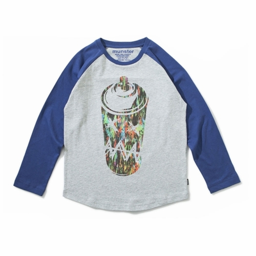 Munster Kids Say It Long Sleeve Raglan