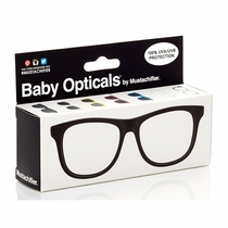 Mustachifier Clear Black Frame Baby Glasses