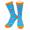 Neon Eaters Chattering Teeth Socks