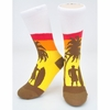 Neon Eaters Surf Sunset Socks