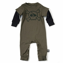 nununu Big Skull Twofer Romper