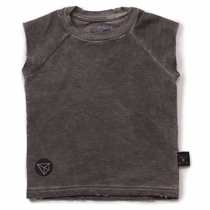 nununu Dyed Grey Muscle Tee