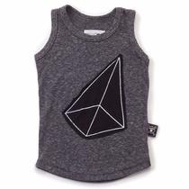 nununu Geometric Patch Tank