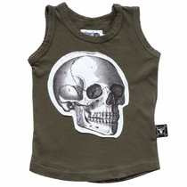 nununu Skull Patch Tank