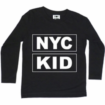 Pop Kids NYC KID Long Sleeve Tee