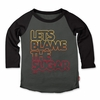 Prefresh Let's Blame The Sugar Raglan Tee