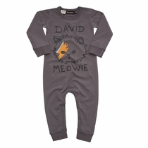 Rock Your Baby David Meowie Romper