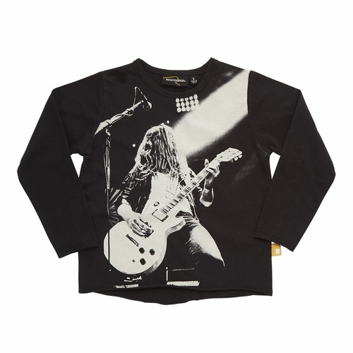 Rock Your Kid Lead Guitarist Long Sleeve Tee