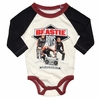 Rowdy Sprout Beastie Boys Long Sleeve Onesie