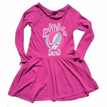 Rowdy Sprout Girls Grateful Dead Pocket Dress