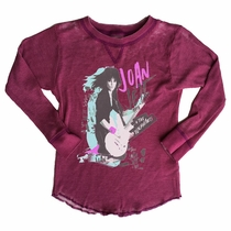 Rowdy Sprout Girls Joan Jett & The Blackhearts Thermal Tee