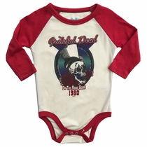 Rowdy Sprout Grateful Dead 1980 Long Sleeve Onesie
