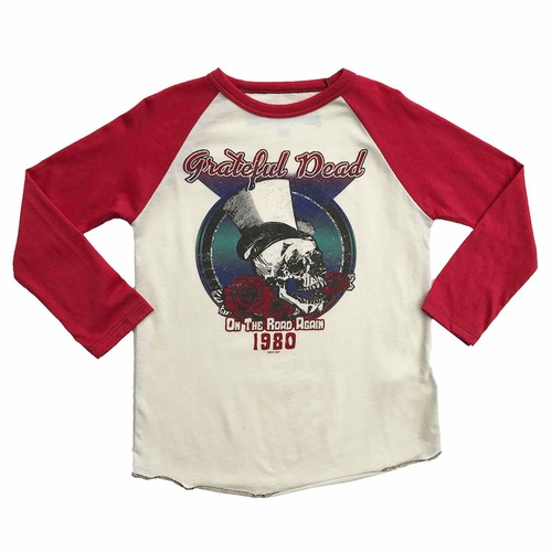 Rowdy Sprout Grateful Dead 1980 Long Sleeve Tee