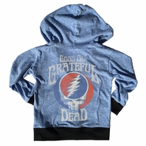 Rowdy Sprout Grateful Dead Lightweight Zip Hoodie
