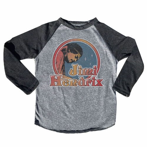 Rowdy Sprout Jimi Hendrix Circle Star Long Sleeve Tee