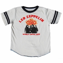 Rowdy Sprout Led Zeppelin Whole Lotta Love Varsity Tee