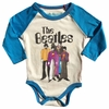 Rowdy Sprout The Beatles Yellow Submarine Long Sleeve Onesie
