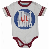 Rowdy Sprout The Who Varsity Onesie