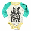 Rowdy Sprout Tupac California Love Long Sleeve Onesie