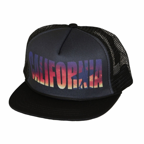 San Diego Hat Co. California Surfer Trucker Hat