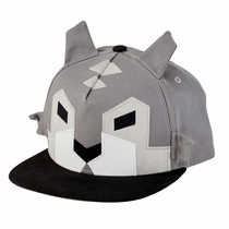 San Diego Hat Co. Geometric Wolf Hat